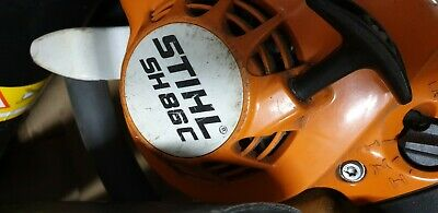 Stihl SH86c Petrol Hand Held Leaf Blower Used But In Working Order.