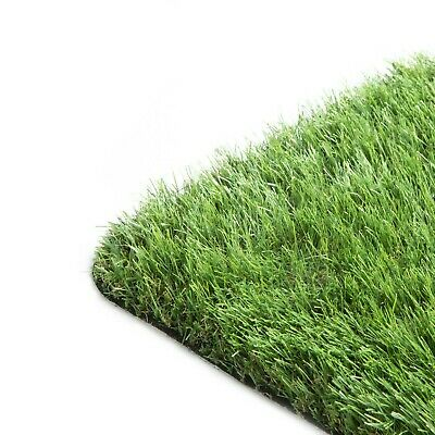 New Artificial Grass Remnant Clearance Off Cuts - 7m x 4m - 30mm Thick - CHEAP!