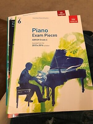 ABRSM Piano Exam Pieces Syllabus Grade 6 Sheet Music Book Tests Songs