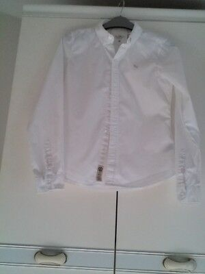 H & M girls white blouse age 13-14