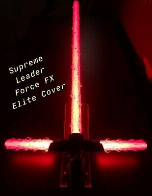 STAR WARS FLAME BLADE COVERS for SUPREME LEADER KYLO REN F.FX ELITE LIGHTSABER