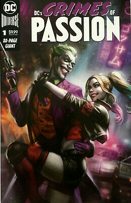 DC Crimes of Passion #1 Exclusive Ian MacDonald Harley Quinn & Joker Variant NM