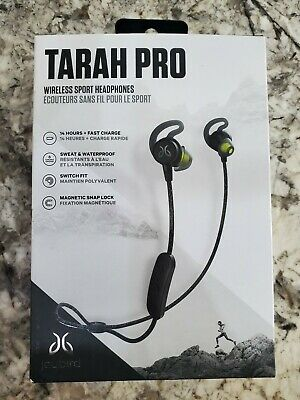 Jaybird Tarah Pro Wireless In-Ear Headphones - Black/Flash - Open Box New