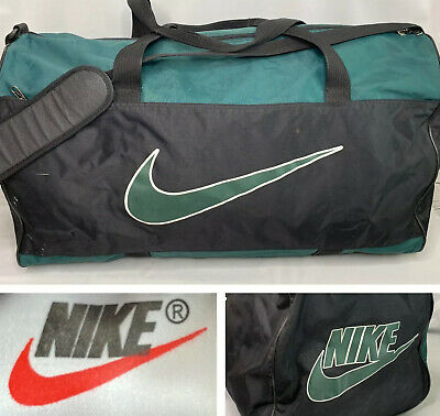 moneda Refinamiento Absurdo  NIKE VINTAGE GRAY Handle Duffle Athletic Gym Bag Tote Swoosh Logo Workout -  $19.99 | PicClick