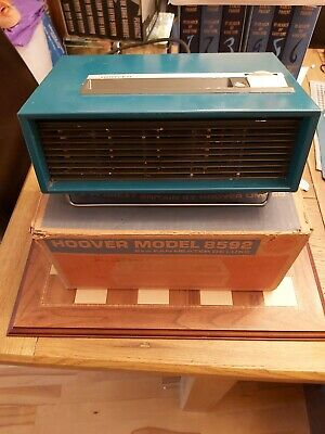 VINTAGE RED HOOVER 8569 Electric Heater