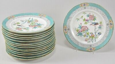 f20s01- 15x Porzellan Speiseteller, English Porcelain