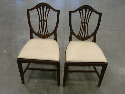Antique Shield Back Chairs