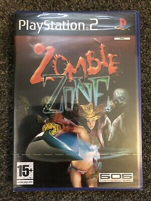 PlayStation 2 Game - Zombie Zone (Superb Factory Sealed Condition) PS2 UK PAL