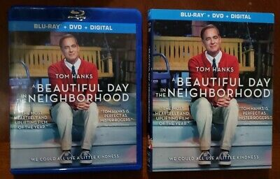 A Beautiful Day in the Neighborhood (Blu-ray and DVD, 2019) Hanks - No Digital