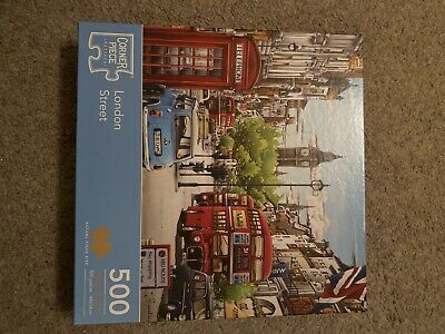 London Street 500 Piece Jigsaw Puzzle, Toys & Games