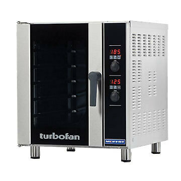 Digital Electric Convection Oven Turbofan E33D5 27 Amp 1 Phase Commercial