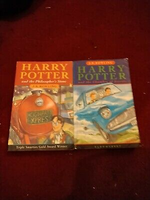 Harry Potter two books from  set  READ DESCRIPTION