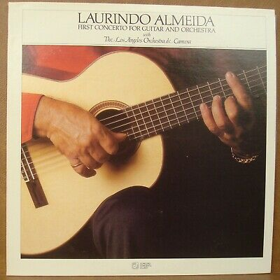 Laurindo Almedia First Concerto for Guitar and Orchestra Concord Records LP NM