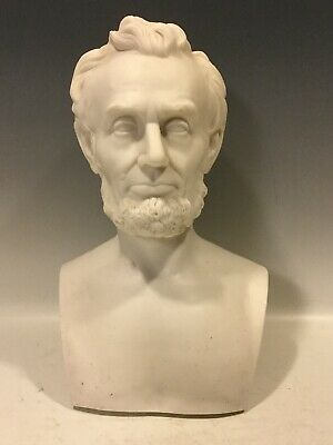 Abraham Lincoln Parian Porcelain Bust By Martin Milmore