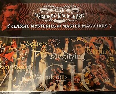 The Magic Castle EXCLUSIVE 'Classic Mysteries Of Master Magicians' Set UNOPENED