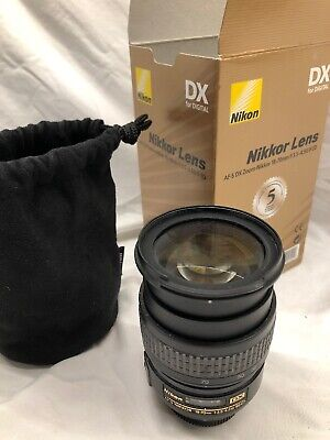AF-S Nikkor Nikon 18-70mm f/3.5-4.5 G DX SWM ED IF Aspherical * Thread 67mm