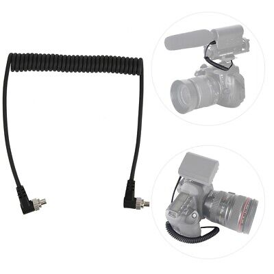 100cm to Male Flash PC Sync Cable Cord with Screw Lock for CANON 7D 5D II 1D 1DS