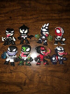 Funko Venom Mystery Minis GS Hulk, GS Iron, Panther, Deadpool, Capt Marvel, More