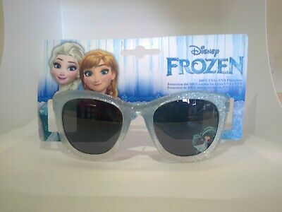 Girls Kids Disney Frozen Elsa & Anna Sunglasses blue 100% UVA/UVB  protection 12
