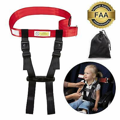 Toddler Airplane Travel Safety Harness Child Clip Strap Restraint System FAA