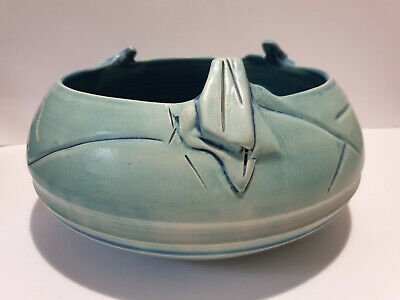 Large Australian Studio Pottery Bowl By Laurie Close