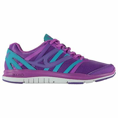 USA Pro Quartz Junior Girls Training Shoes Purple Trainers Footwear