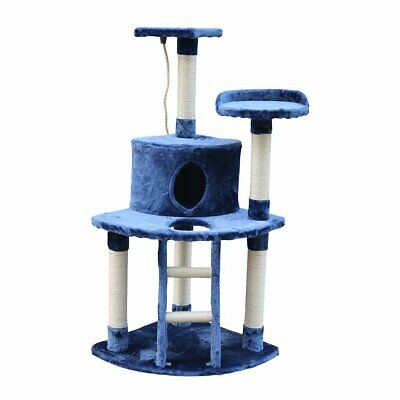 120cm Cat Tree Trees Scratching Post Scratcher House Furniture Wood Tower Condo