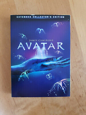AVATAR dvd, Extended Collector's Edition, 3 dvds