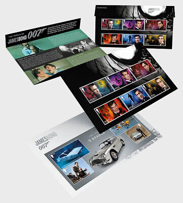 GREAT BRITIAN 2020 James Bond - Presentation Pack  PRE ORDER issue 17-3-'20