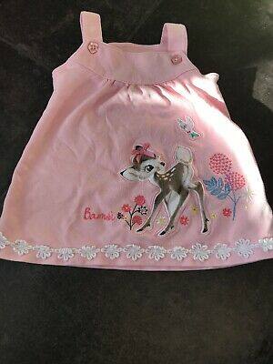 Baby Girls Disney Bambi Dress 0-3 Months