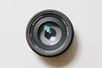 CONTAX Carl Zeiss Planar T* 50mm f1.7 Lens from JAPAN