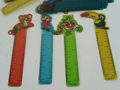 20  animal rulers  bookmarkNovelty Toys Party Favours Lucky Dips birthdays party