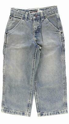 Old Navy Painter Type Carpenter Slim Boys size 5 SandBlasted Distressed Jeans