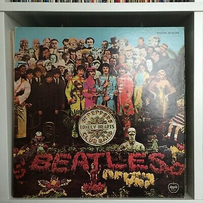 """The Beatles – """"Sgt. Pepper's Lonely Hearts Club Band"""" 1973 Japanese Pressing"""
