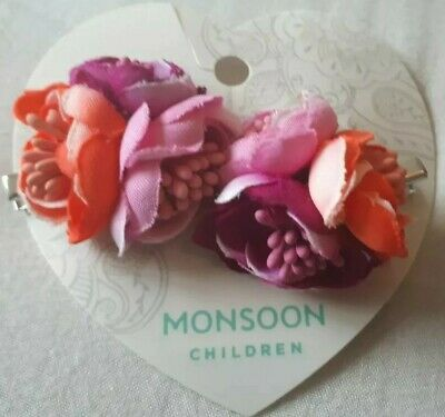 Monsoon accessorize Girls Flower Hair pin clip