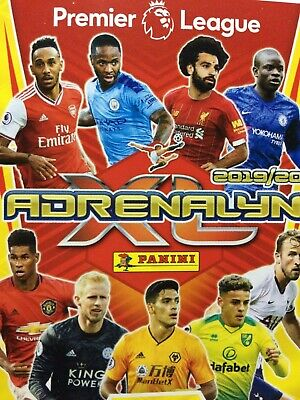 Panini Adrenalyn Xl 19/20 Premier League Base/Hero Cards 1-180 Buy 2 Get 10 Free