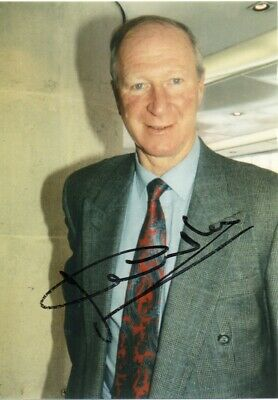 Jack Charlton Autograph - Signed 7x5 Photo 1 - Handsigned - AFTAL