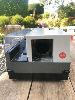 Leica Leitz Pradovit Colour 250 Slide Projector Made In Germany