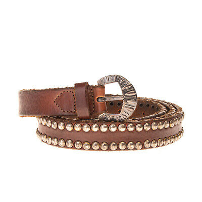 RRP €230 GOLDEN GOOSE DELUXE BRAND Leather Belt Size L 100/40 Studded Pin Buckle