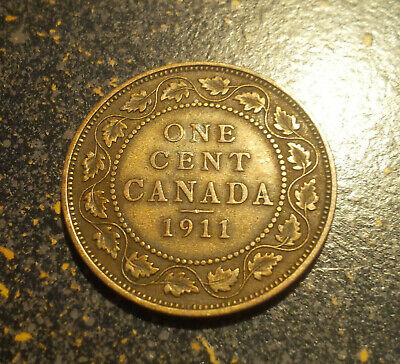 1911 Canada Large Cent - P1911-10