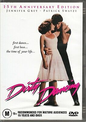 DIRTY DANCING (1987) Patrick Swayze, Jennifer Grey, Jerry Orbach - DVD Region 4