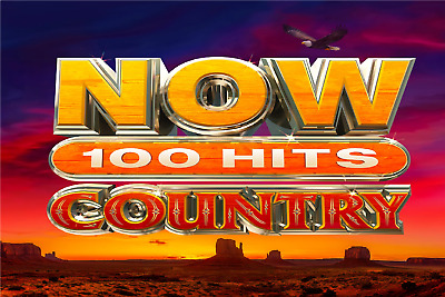 NOW 100 Hits Country VARIOUS ARTISTS 5 CD SET  (13THMAR) NEW
