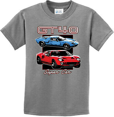 Ford GT40 Super Car Youth Kids Shirt
