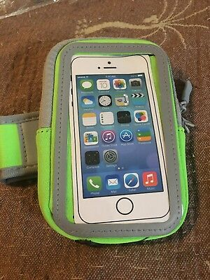 Bright Green Universal Cell Phone Arm Band For Running New