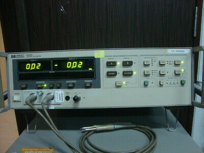 HP/Agilent  8508A Vector Voltmeter with 85081B High Impedance Input Module
