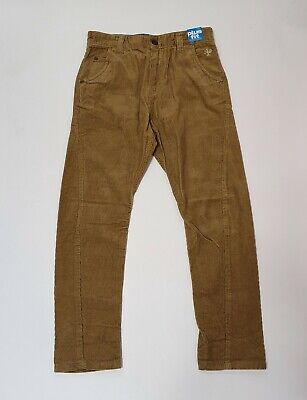 Next boys Plus Fit Brown Corduroy Trouser - 9 Years Plus  134 cm Height - New