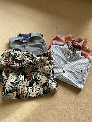 Scotch Shrunk And Soda Boys Shirts Plus One Reply  Age 10 Excellent Condition