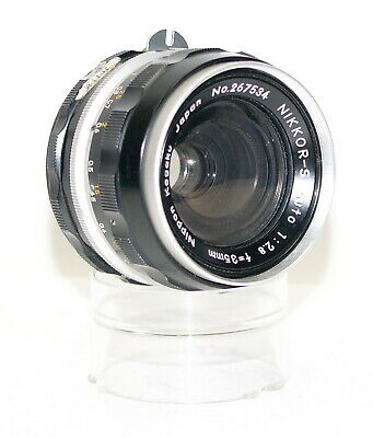 Nikon NIKKOR-S Auto 35mm f/2.8 Non Ai Lens (Converted *Read*) AS IS