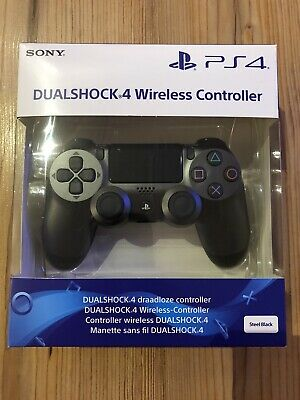 Original Sony PS4 DualShock 4 V2 Wireless Controller Steel Black Neu