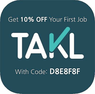 Takl 10% Off Coupon Code ~ Home Services On Demand ~ Home Depot Lowes Tackle